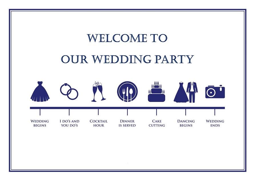 結婚式 タイムスケジュール