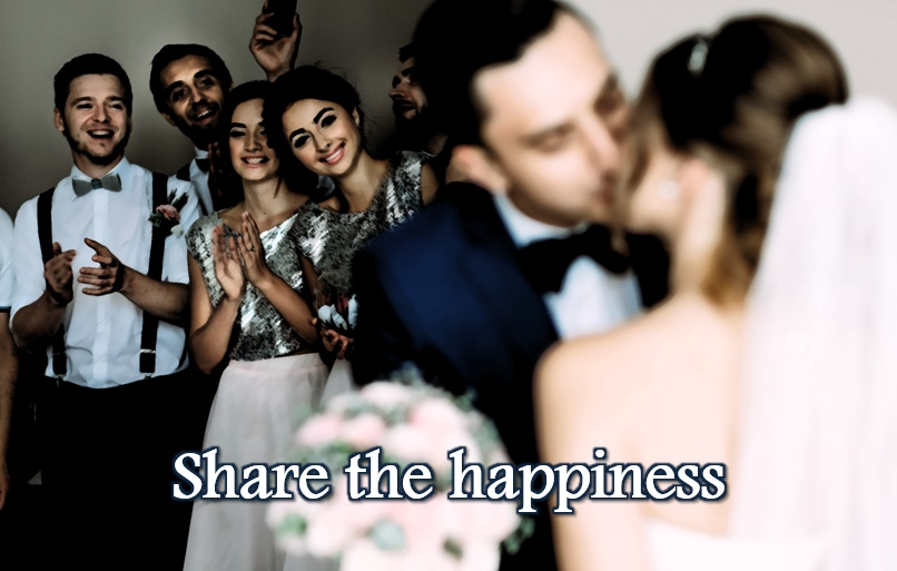 Share the happiness
