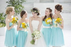 【オシャレ花嫁必見】話題のブライズメイドってどうやるの?友達や姉妹と素敵な結婚式を作る秘訣!