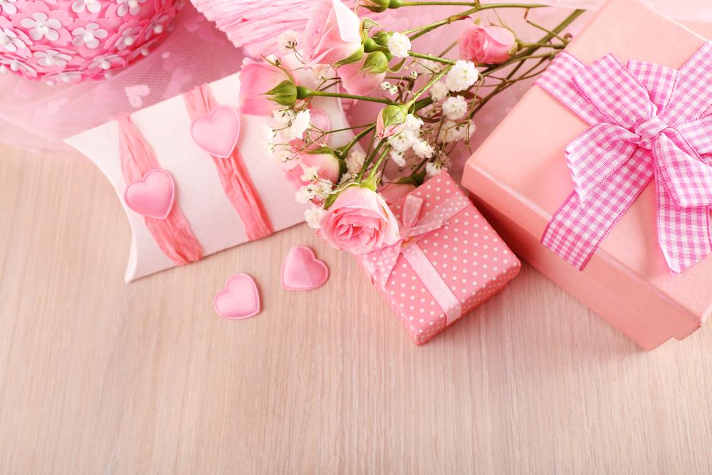 ピンクのボックス