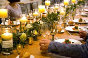 料理にもオリジナリティを♪青山の貸切ゲストハウス・THINGSで叶えるおもてなしウエディング!