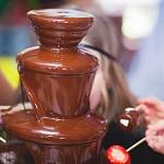 チョコレートファウンテン