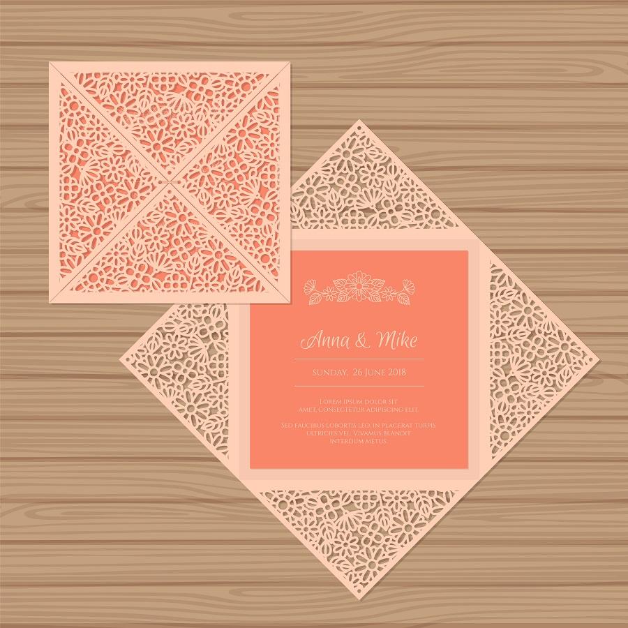 招待状 折り紙