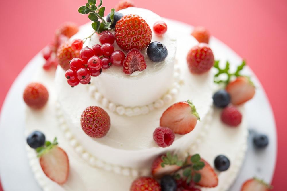ウエディングケーキ作りに【収穫】という方法で参加することも