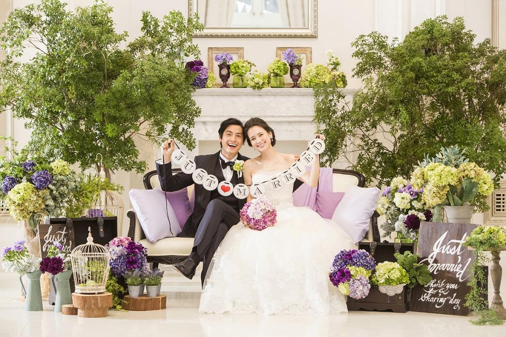 結婚式を彩る!フラワーの素敵演出で自分らしさを表現♪