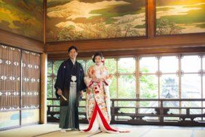 東京都指定有形文化財の百段階段で行われる、他にはない結婚式