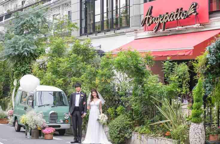 【口コミよりリアル!な結婚式情報】渋谷のレストラン「アンジェパティオ」の全容をご紹介♪