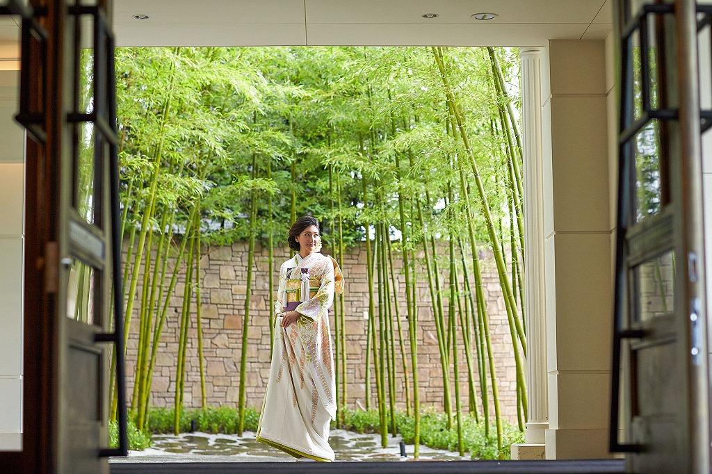 横浜迎賓館で和装の新婦