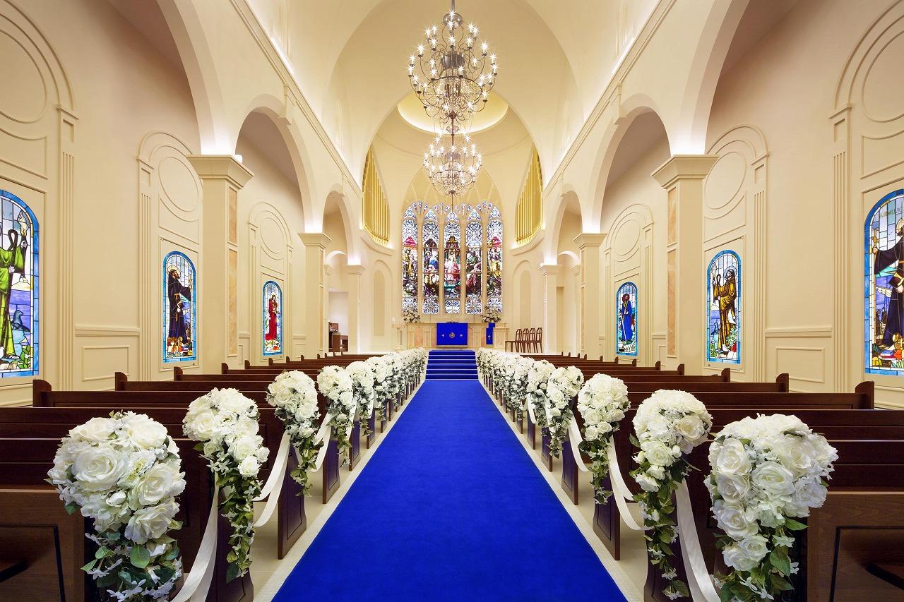 チャペル重視の方へ キリスト教式におすすめの東京 横浜の結婚式場
