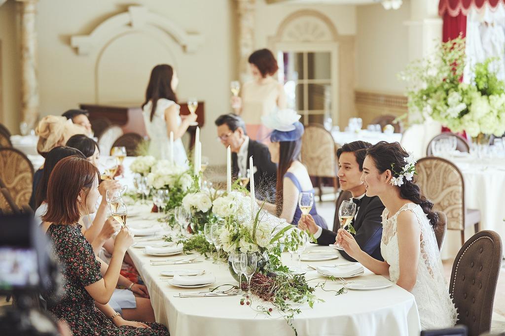 婚礼料理と結婚式が一体となる。おいしいおもてなしで感動を生むために|Q.E.D.CLUB取材記事