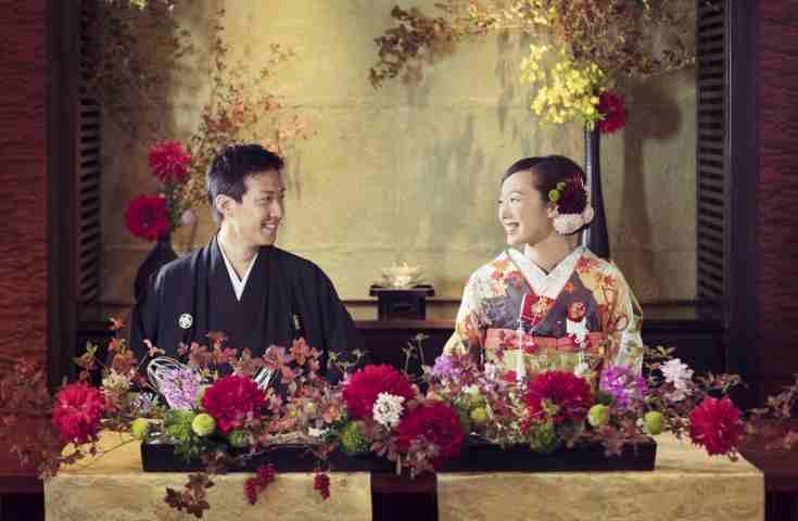特別な人と特別な時間を。風情たっぷりの軽井沢和婚|星のや軽井沢 阿結抄 取材記事